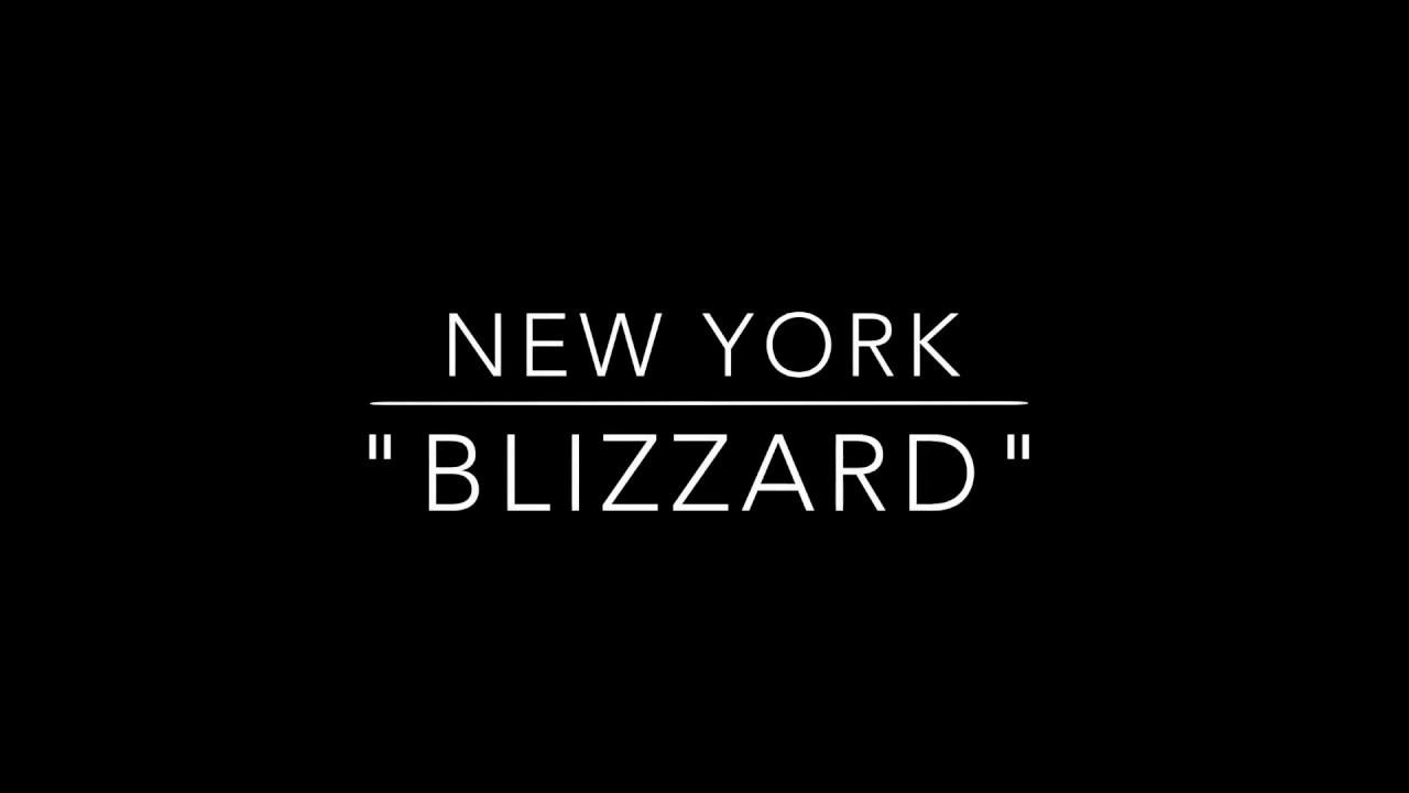 Blizzard - (non blizzard )NYC 2015