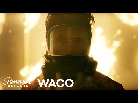 Video trailer för 'WACO' Official NEW Series First Look Starring Michael Shannon & Taylor Kitsch | Paramount Network