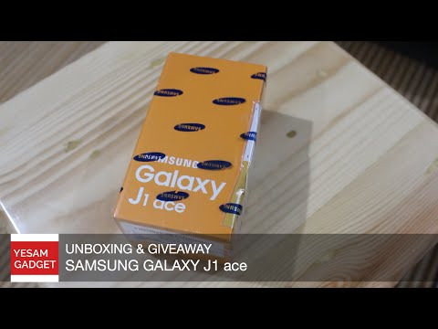 Unboxing Samsung Galaxy J1 Ace [INDONESIA]- Giveaway CLOSED