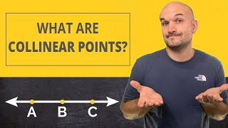 What are collinear points