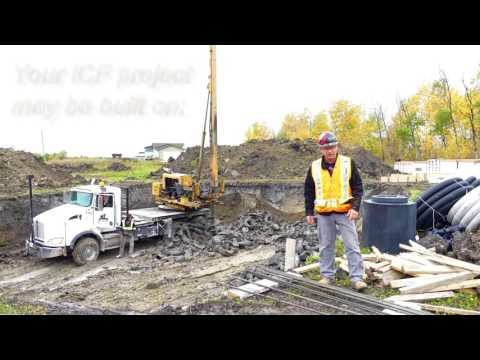 Building your ICF Home part one