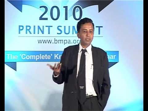 Print Summit 2010 : Prof Parimal Merchant at Print Summit 2010