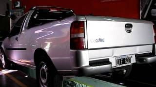 preview picture of video 'CañoSport - Ford Courier pick up con escape SilenPro'