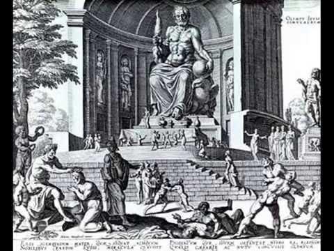 Статуя Зевса в Олимпии (чудо света №3) -