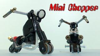 Minimoto Chopper Con Encendedores, Cómo Se Hace