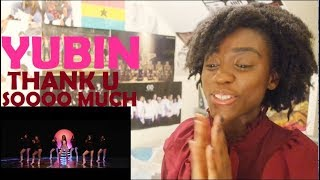 YUBIN - THANK U SOOOO MUCH MV REACTION [RELATABLE QUEEN!!]
