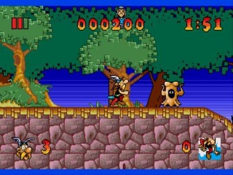 Asterix and the Great Rescue прохождение.