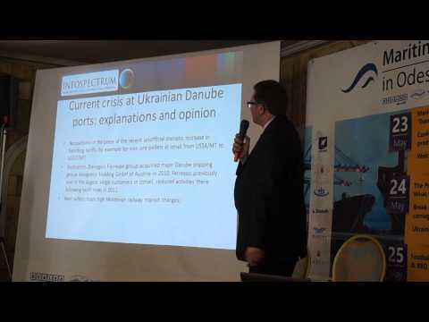Edgar Martin from Infospectrum on prospects of the Danube
