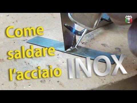 Saldare l'acciaio inox (senza saldatrice) | Castolin 157
