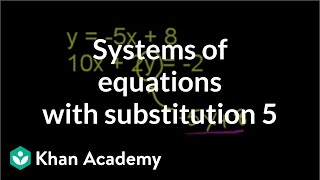 Substitution Method 2