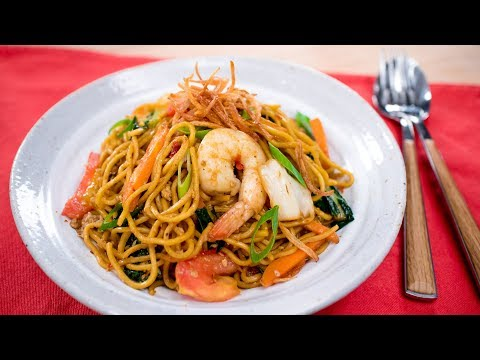 Indonesian Mie Goreng Recipe (wok-fried Egg Noodles) - Pai's Kitchen