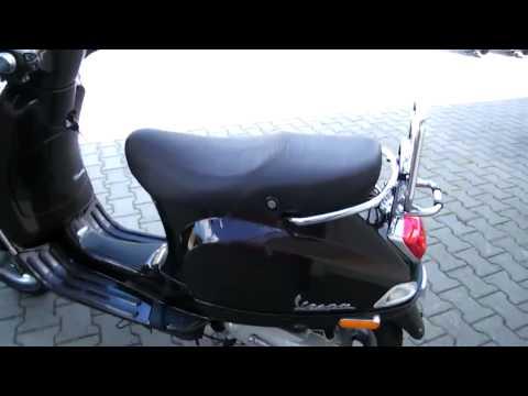 vespa lx 50 2t touring 2010 roller scooter braun terra 112 a videos custom. Black Bedroom Furniture Sets. Home Design Ideas