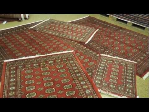HANDMADE Classic Bokhara Area Rugs 2'x3', 3x5', 4'x6', 5x8, 6'x9', 7'x10', 9'x12'