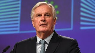 video: Politics latest news: Watch live as Michel Barnier gives update on latest round of Brexit talks