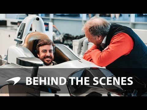 Fernando Alonso's Indy 500 seat fit