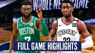 BOSTON CELTICS vs BROOKLYN NETS - FULL GAME HIGHLIGHTS | 2019-20 NBA SEASON