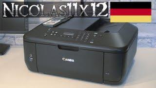 [DEUTSCH] Canon PIXMA MX395 All-In-One Drucker Testbericht