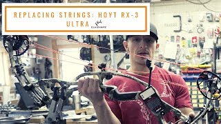 Replacing Strings on a Hoyt RX-3 ULTRA