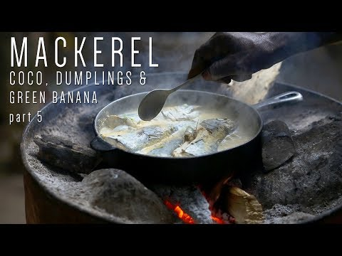 The Boat Lands! Steamed Mackerel by Rasta Mokko (Mackerel part 5)