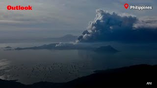 Lava Gushes Out Of Taal Volcano In Philippines, 286 Flights Cancelled