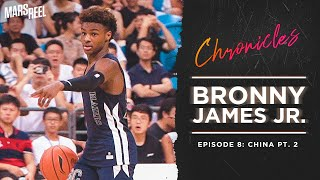 BRONNY JAMES JR. | EP. 08 PT. 2 | Mars Reel Chronicles