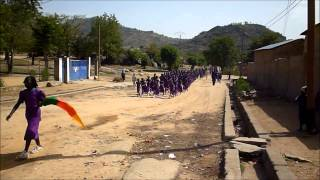 preview picture of video 'Cameroon - Youth day march - School sponsorship program in Africa'