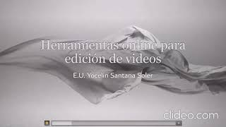 Editores de video online