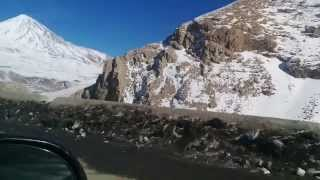 preview picture of video 'Haraz Road (From Tehran to Gorgan in 6 min)  [Dec 2013]'