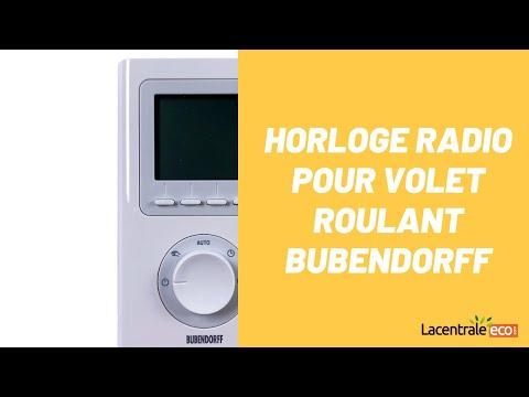 Horloage radio ID2 pour volet roulant Bubendorff