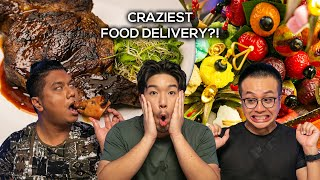 Food King Singapore: $3 vs $300 Food Delivery!