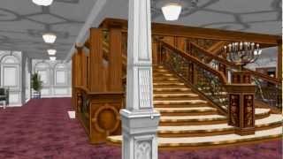 Titanic 3D walkthrough