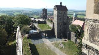 preview picture of video 'Eine Burg mit Burggeist: Burg Stolpen in Sachsen (A castle with castle ghost)'