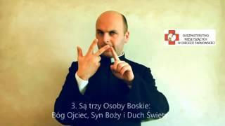 6 Prawd wiary w języku migowym