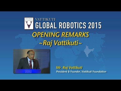 Raj Vattikuti- VGR 2015 Opening Remarks