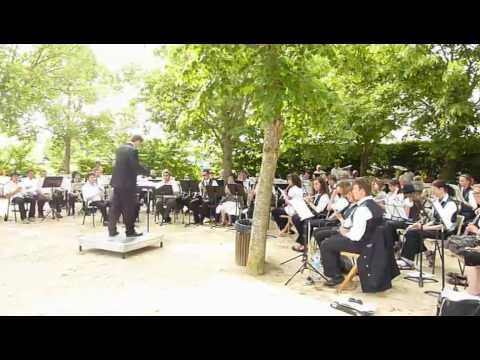 Uitwisseling harmonie Gassel en Le Ferte Bernard uit Frankrijk
