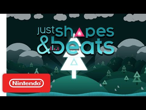 Just Shapes & Beats Release Date Announcement Trailer - Nintendo Switch thumbnail