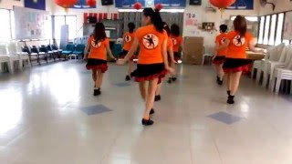 BABY LIKES TO ROCK IT - Line Dance (by Hillbilly Rick)