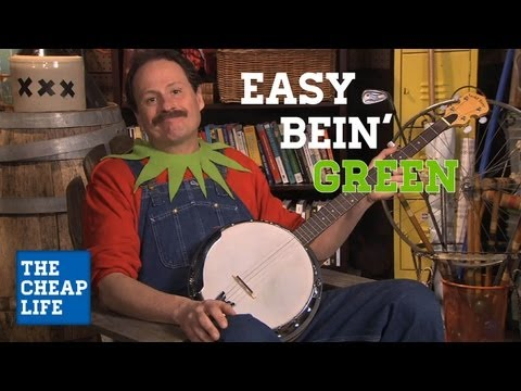 Living Green on the Cheap | The Cheap Life with Jeff Yeager | AARP