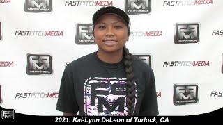 Committed to SF State - 2021 Kai-Lynn DeLeon Slapper, Shortstop Softball Skills Video - Firecrackers