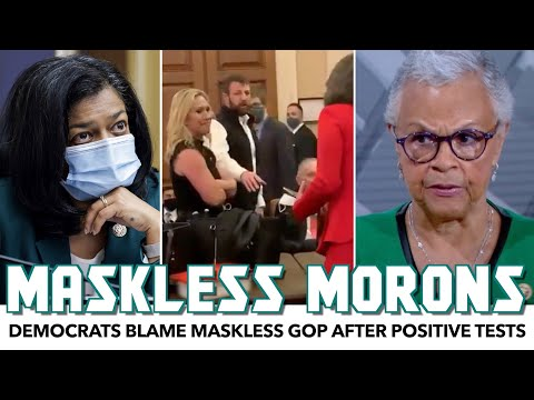 Democrats Test Positive After Lockdown With Maskless GOP Lawmakers