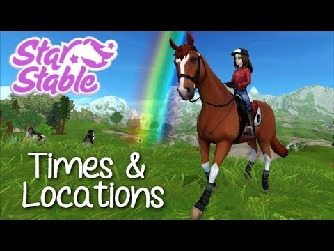 ALL TIMES & LOCATIONS OF THE RAINBOW 2019 - STAR STABLE ONLINE