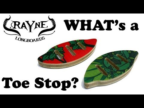 Longboard Toe Stops by Rayne – Review & Explained