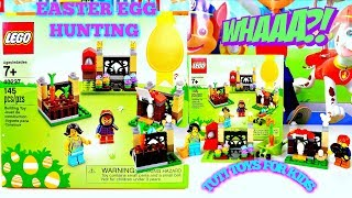LEGO Easter Egg Hunting & Harvest Carrot