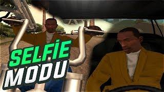 Gta San Andreas #134   Arabada Uçakta Motorda Selfie ?!   SELFİE MOD   Tanıtım   İndir   Download  