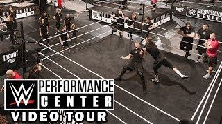 WWE Performance Center Video Tour