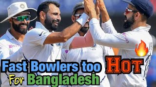 Fast Bowlers too hot for BD   INDvBD   BolWasim  