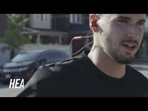 Soundliving Pro Runner trådløse hovedtelefoner grå video