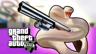 And the Darwin Award Goes To... - GTA 5 Stunt Race Gameplay
