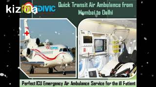 Get Instant Rescue by Medivic Air Ambulance from Kolkata to Delhi
