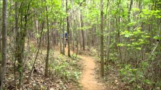 Video highlighting trail features and the new section opened in April 2015.